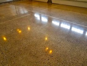 Completed Floor Shines Like Never Before