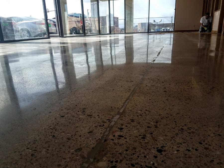 Tru Grit Office Floor Polished