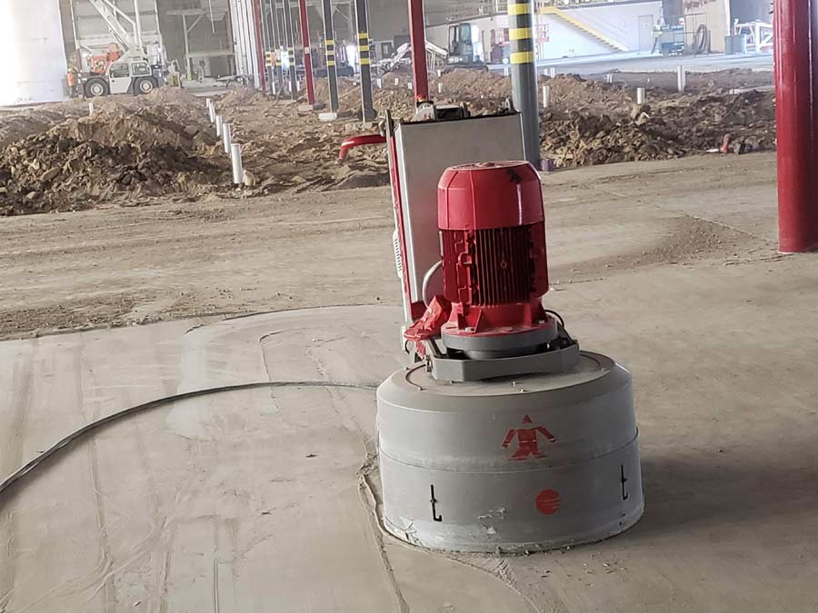 Big Concrete Grinder